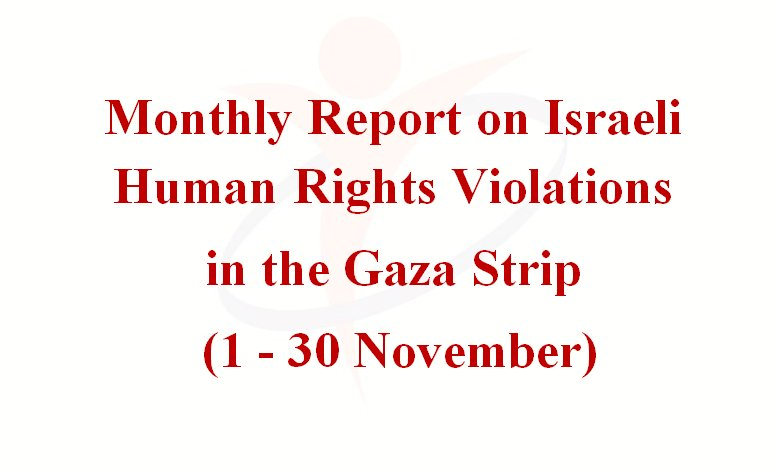 Israeli violations in the Gaza Strip, November 2014